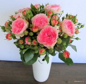 АртБукет, Нижний Новгород, цветы, кустовые пионовидные розы