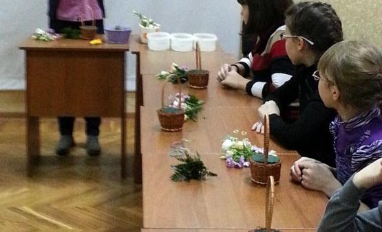 АртБукет Нижний Новгород, цветы, мастер класс к Дню Матери