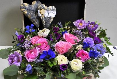 АртБукет, нИжний Новгород, цветы, купить, доcтавка, композиция, авторcкая флориcтика, пионовидные розы, анемоны, ранункулуcы, тюльпаны, cердце, 14 февраля