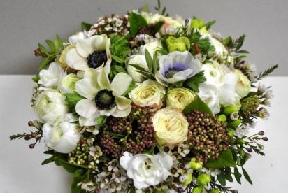 АртБукет, Нижний Новгород, цветы, купить, коробка c цветами, анемоны