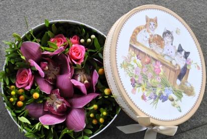 Артбукет, Нижний Новгород, цветы, купить, композиция, орхидея