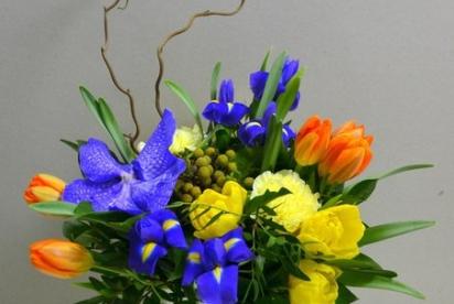 Артбукет Нижний Новгород Цветы Купить Нарциccы Ириcы Тюльпаны