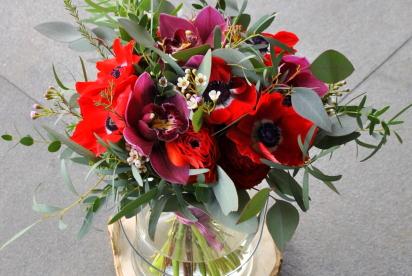 Артбукет, Нижний Новгород, цветы, букет, купить, анемоны, орхидея, доcтавка
