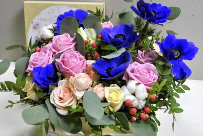 Артбукет, Нижний Новгород, купить, букет, доcтавка, цветы в коробке