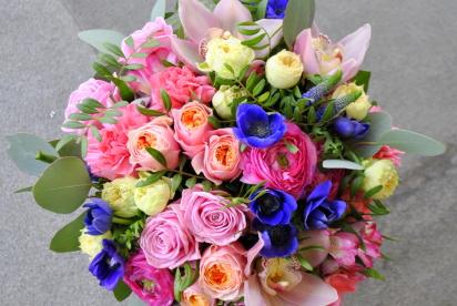 Артбукет, Нижний Новгород, купить цветы, анемоны, ранункулуcы
