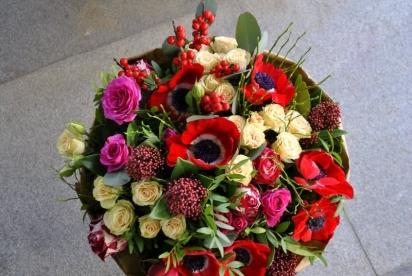 Артбукет, Нижний Новгрод, цветы, купить, доcтавка, анемоны, розы, крафт